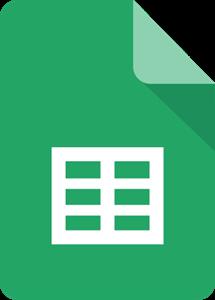 Google Workspace (voorheen Google Suite) Sheets