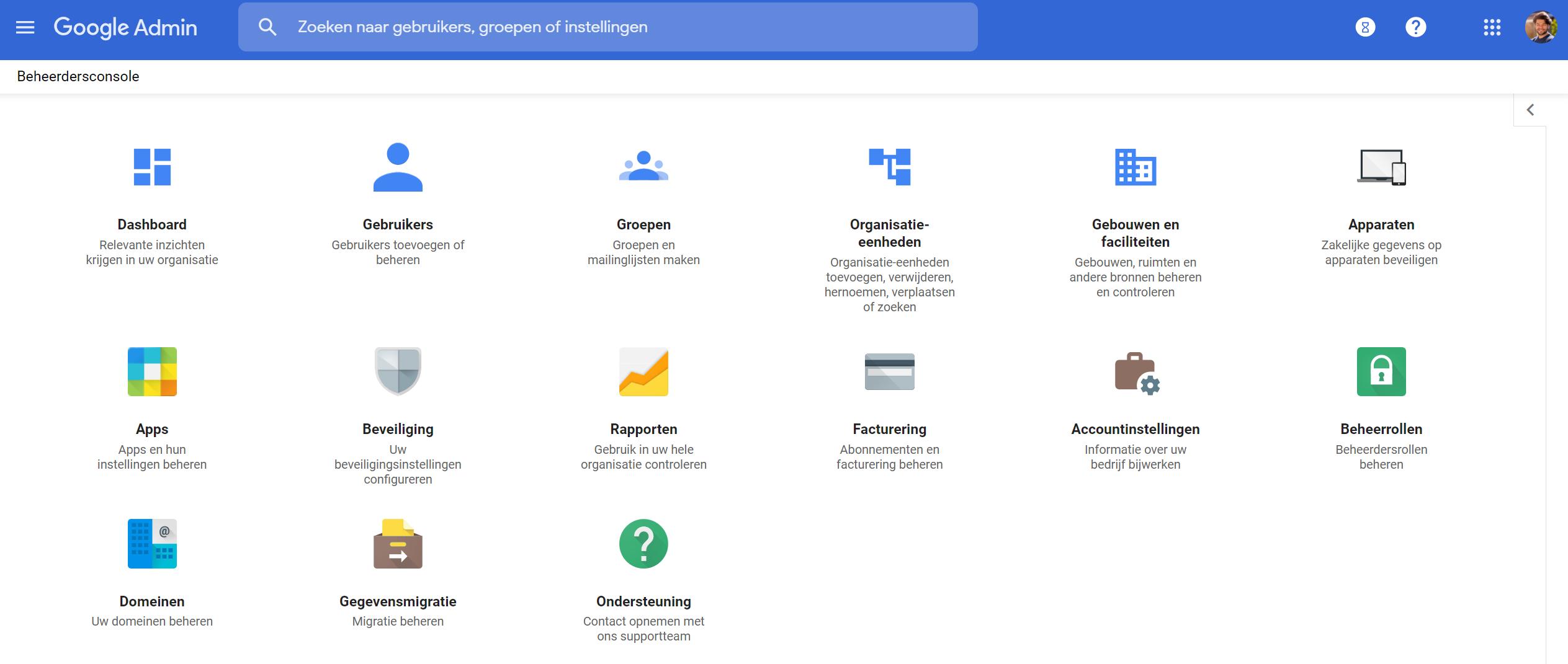 google admin bij de Google Workspace specialist