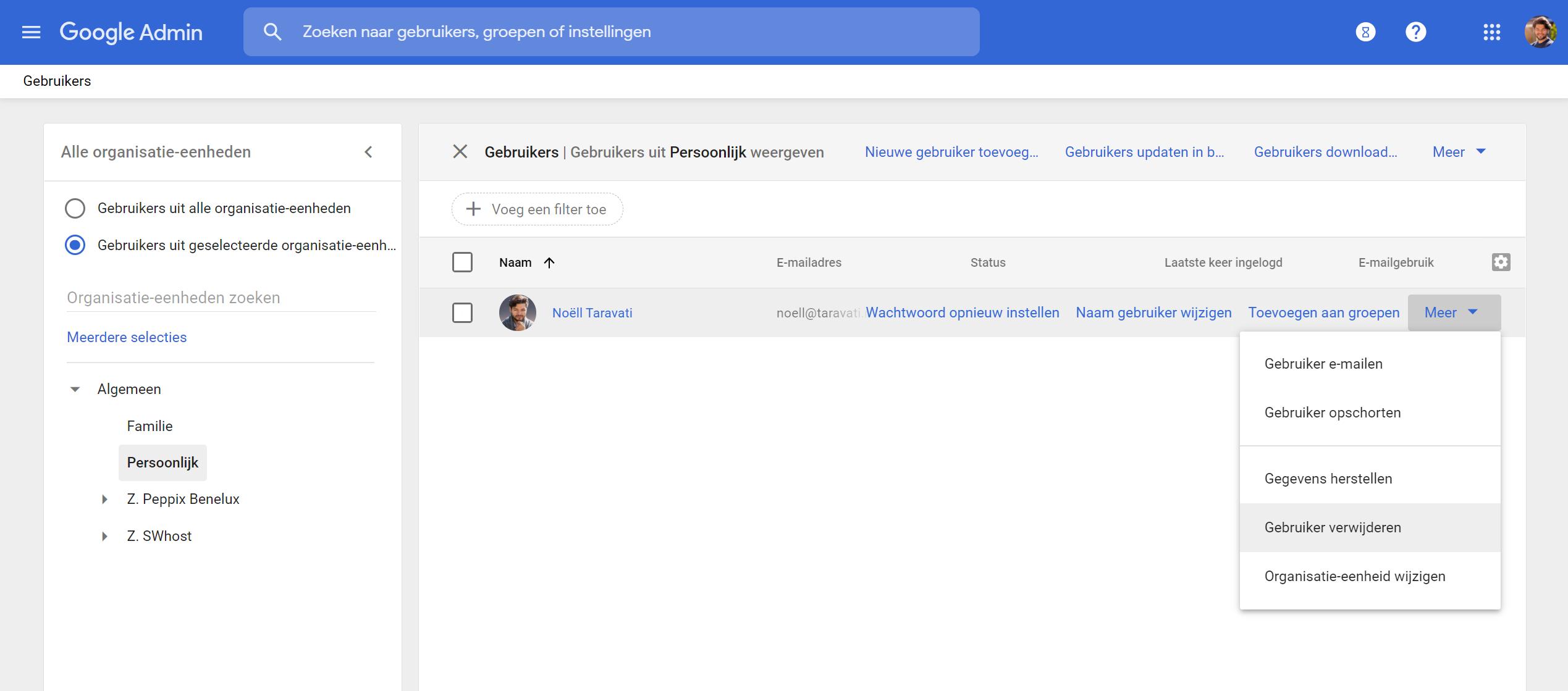 google workspace gebruikers bij de Google Workspace specialist